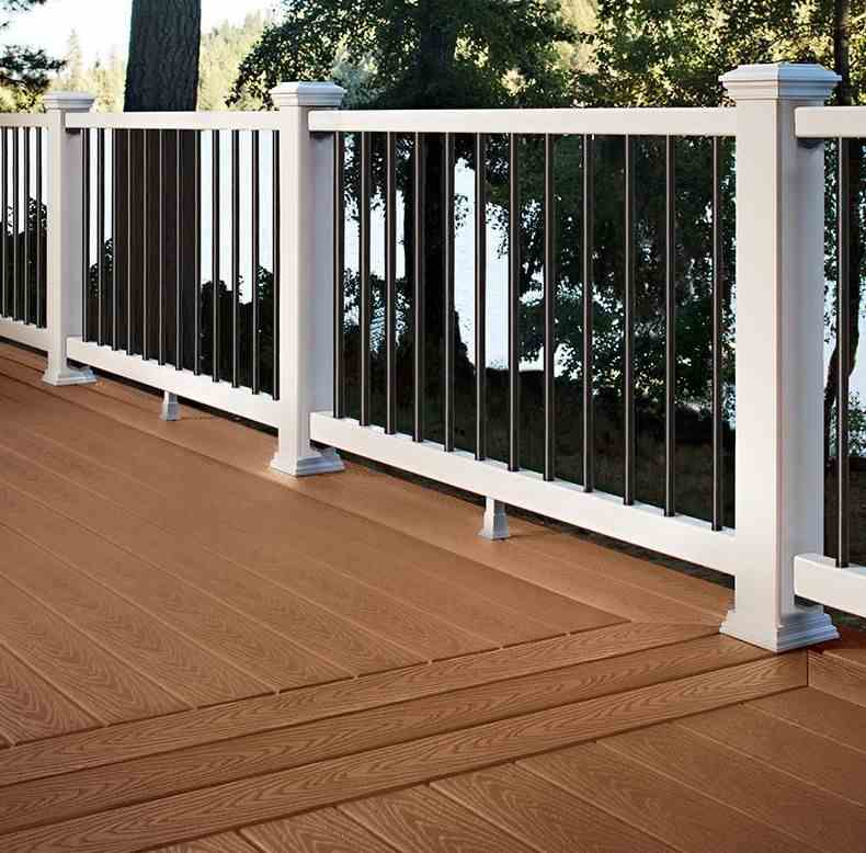 Trex Deck 7 8 X 5 5 In X 20 Ft Saddle Trex Composite Decking